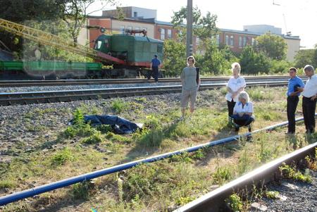 поезд Львов - Луганск сбил